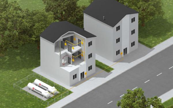 Gaz płynny. Instalacja gazowa LPG: niezbędne formalności, porównanie kosztów ogrzewania, zalety i wady