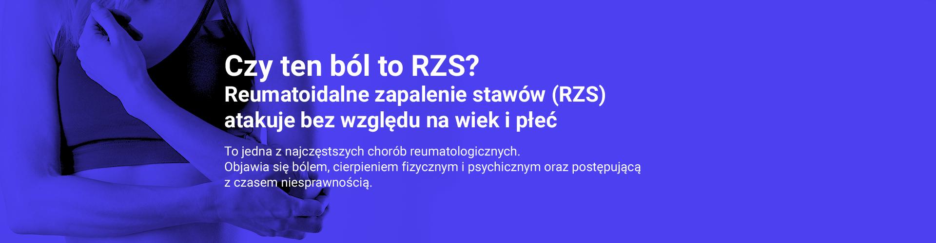 Czy ten ból to RZS?